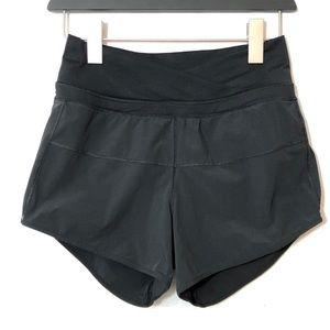 \Lululemon\• Black High Waist Shorts